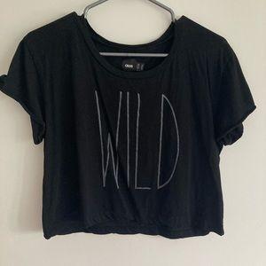 """2/$15 ASOS """"Wild"""" crop top"""